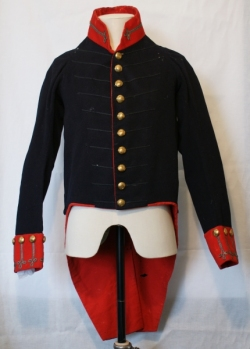 Royal Artillery officer`s frockcoat c. 1799