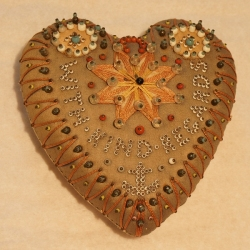 Pin cushion wedding gift 19th century