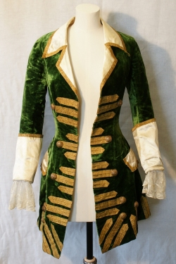 Green Velvet Jacket 19th Century