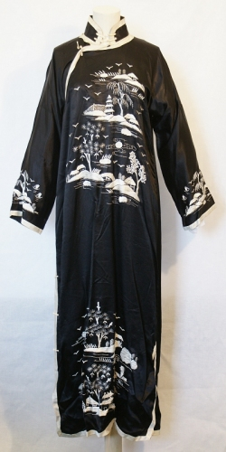 Chinese Silk Gown 1930s